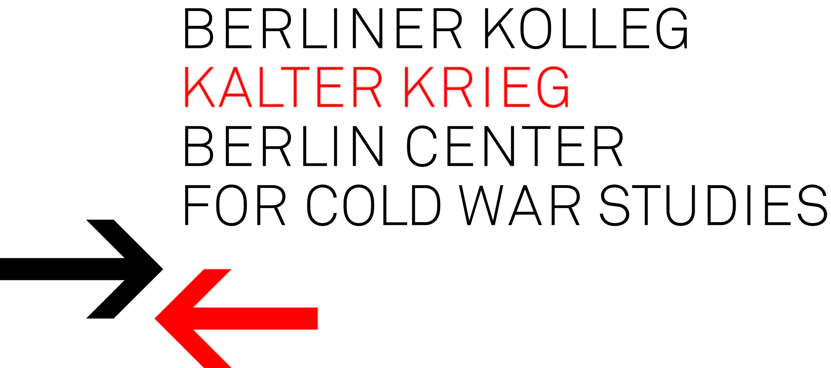 Logo: Berliner Kolleg Kalter Krieg (farbig)