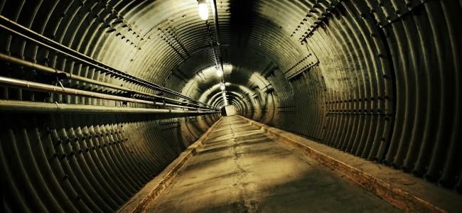 Photo: Blast Tunnel (c) Diefenbunker