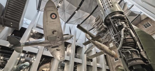 Photo: Atrium (c) Imperial War Museums
